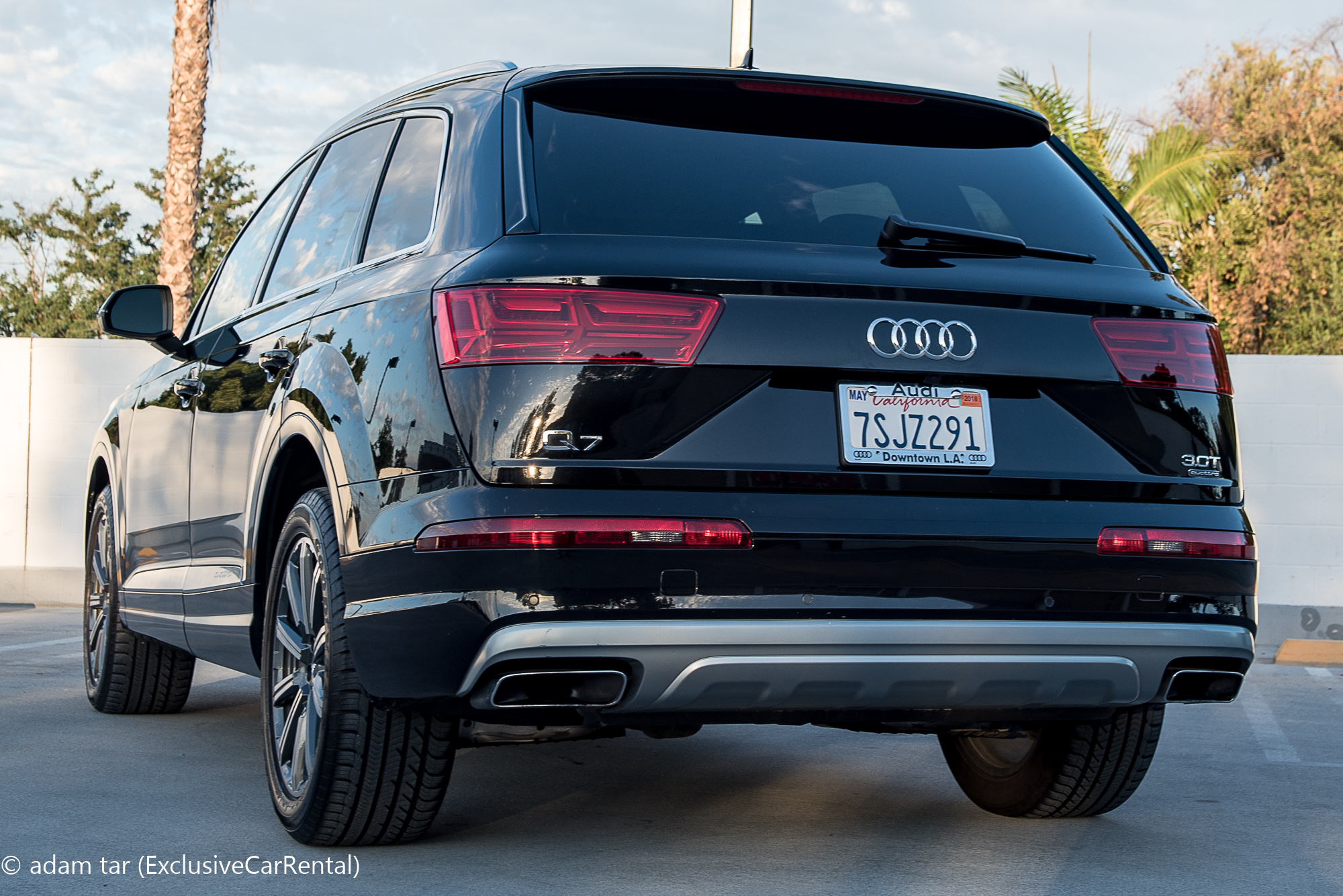 Audi Q Luxury SUV Rental In Los Angeles And Surrounding Cities - Audi downtown la