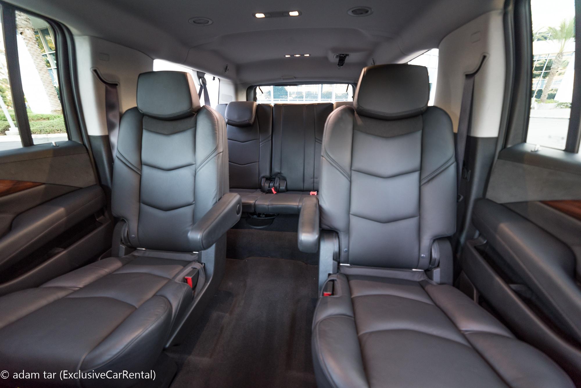 8 Seater Suv >> Cadillac Escalade ESV SUV Rental in Los Angeles and ...